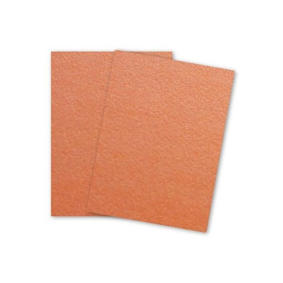 [Clearance] Curious Metallic - MANDARIN Card Stock - 111lb Cover - 8.5 x 11 - 25 PK