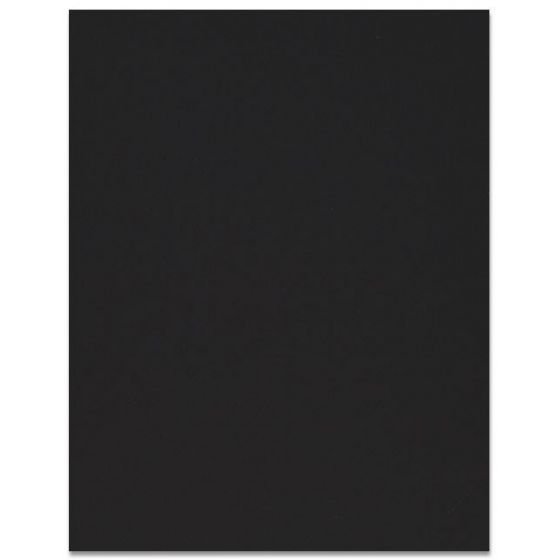 Curious SKIN - Black - 12 x 12 Card Stock Paper - 100lb Cover - 100 PK