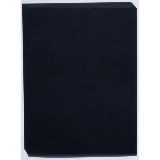 REMAKE Black Midnight (121T/180gsm) 8.5X11 Lightweight Card Stock Paper - 25 PK
