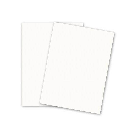 DUROTONE Butcher - 26X40 Card Stock Paper - WHITE - 100lb Cover