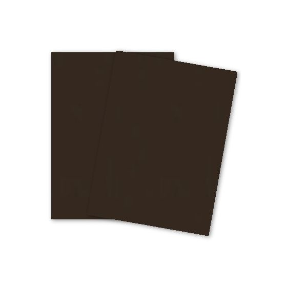 French Paper - POPTONE Hot Fudge - 8.5X11 (65C/175gsm) Lightweight Card Stock Paper - 2500 PK