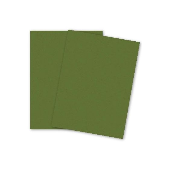 French Paper - POPTONE Jellybean Green - 8.5X11 (65C/175gsm) Lightweight Card Stock Paper - 250 PK