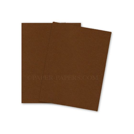 [Clearance] SPECKLETONE Brown - 8.5X14 Card Stock Paper - 100lb Cover (270gsm) - 200 PK