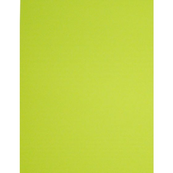 [Clearance] FLUORESCENT CHARTREUSE - 8.5X11 10PT 82C/223gsm - Litho Sheen Card Stock Paper - 100 PK