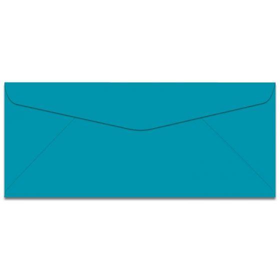 Mohawk BriteHue - No. 10 Envelopes - SEA BLUE - 500 PK