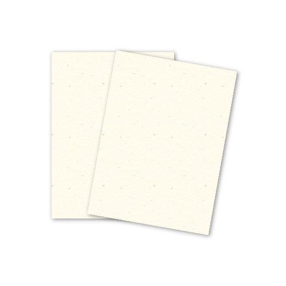 Mohawk Loop Antique Vellum - MILKWEED - 160lb Cover - 26 x 40 Card Stock Paper