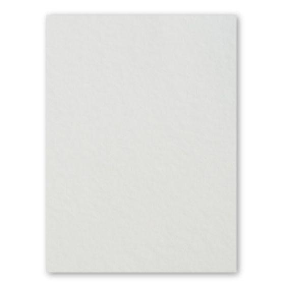 [Clearance] 100% Pure Cotton Letterpress Soft White 222C/40Pt/600gsm 8.5X11 (216X279) - 10 PK