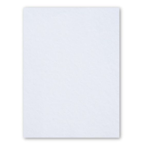 [Clearance] 100% Pure Cotton Letterpress Ultimate White 222C/40Pt/600gsm 8.5X11 (216X279) - 10 PK