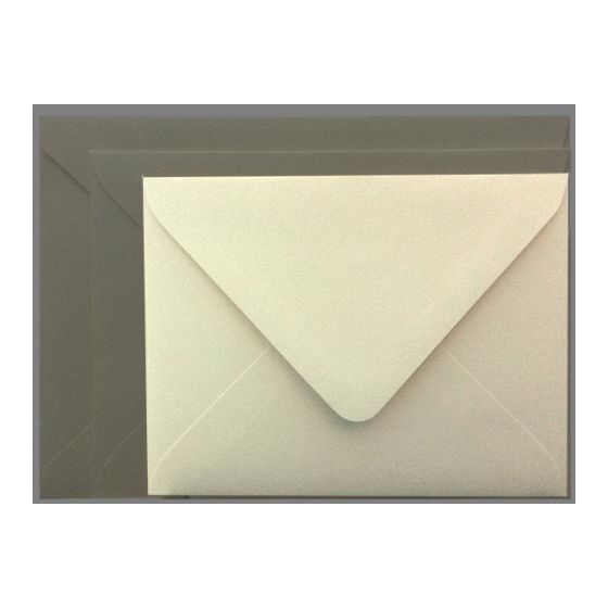Mohawk Superfine SOFTWHITE Eggshell - A2 Envelopes EURO FLAP (80T 4-3/8X5-3/4) - 250 PK
