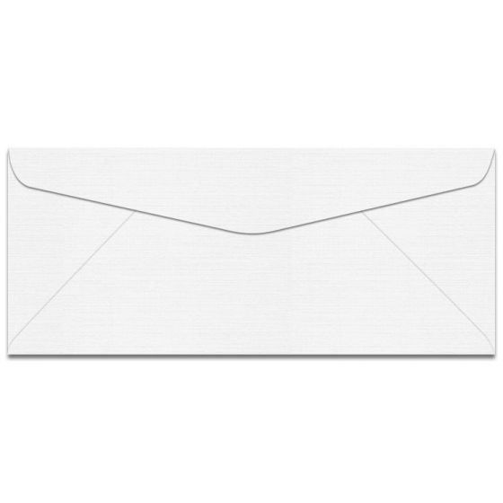 Mohawk VIA Linen - 100% PC COOL WHITE - No. 10 Envelopes - 500 PK