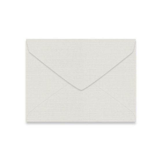 Mohawk VIA Linen - LIGHT GRAY - 5-1/2 BAR Envelopes - 25 PK