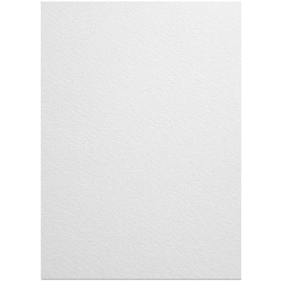 Mohawk VIA Felt - PURE WHITE  - 100lb Cover (270gsm) - 8.5X14 Card Stock Paper - 200 PK