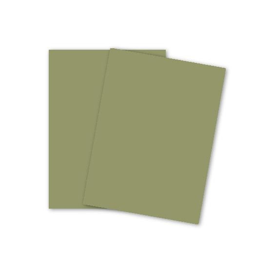 Mohawk VIA Vellum - PINE - 80lb Cover - 26 x 40 Card Stock Paper