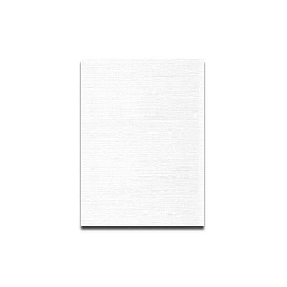 Neenah CLASSIC LINEN 8.5 x 11 Card Stock - Avon Brilliant White - 80lb Cover - 250 PK