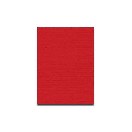 Neenah CLASSIC LINEN 12 x 18 Card Stock - Red Pepper - 100lb Cover - 250 PK
