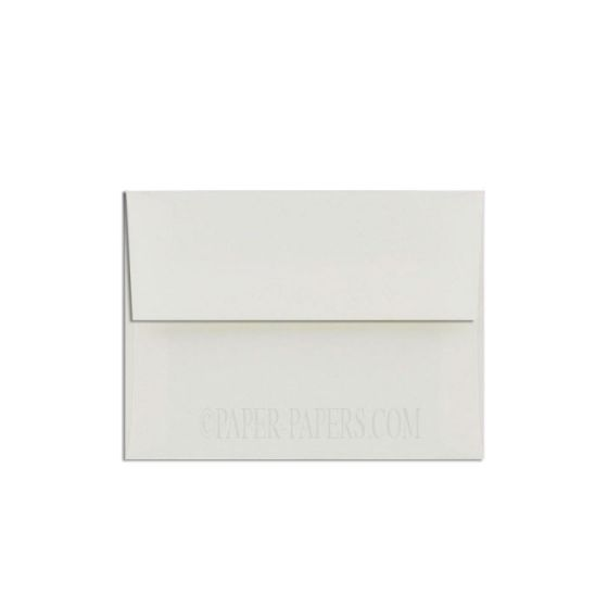 100% Cotton A1 Envelopes (3.625-x-5.125) - Savoy Natural White - 250 PK
