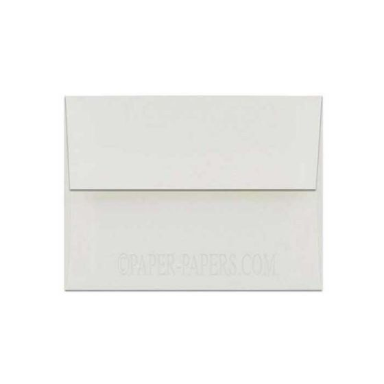 100% Cotton A2 Envelopes (4.375-x-5.75) - Savoy Natural White - 25 PK