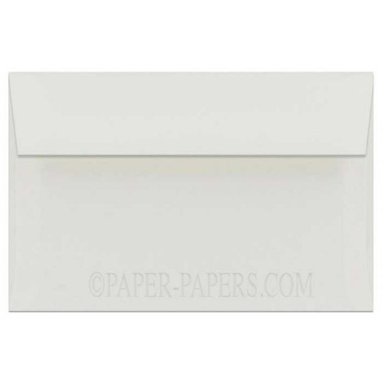 100% Cotton A9 Envelopes (5.75-x-8.75) - Savoy Natural White - 1000 PK