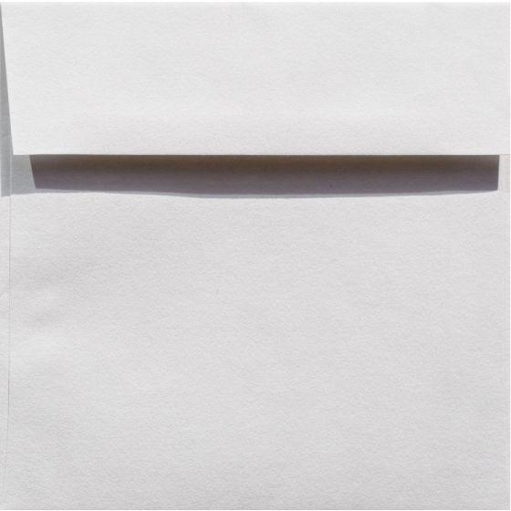 100% Cotton 6.5 Square Envelopes (6-1/2-x-6-1/2) - Savoy Bright White - 25 PK