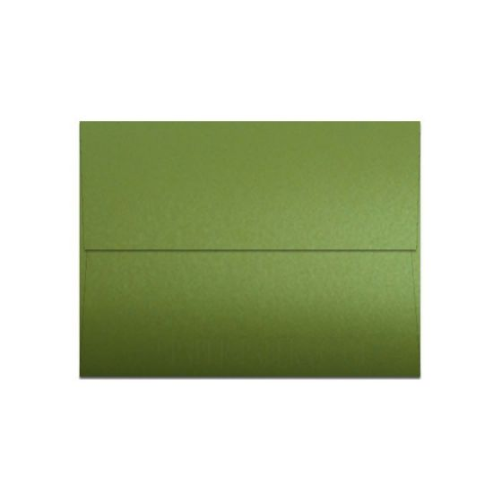 [Clearance] Shine LIME SATIN - Shimmer Metallic - A2 Envelopes (4.375-x-5.75) - 1000 PK