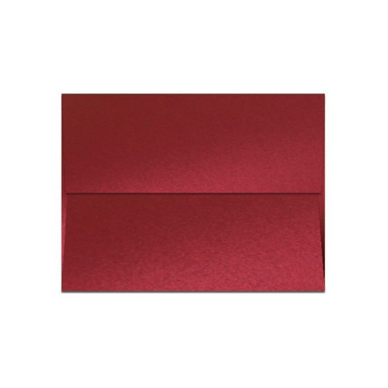 Shine Red Satin (1) Envelopes Offered by PaperPapers