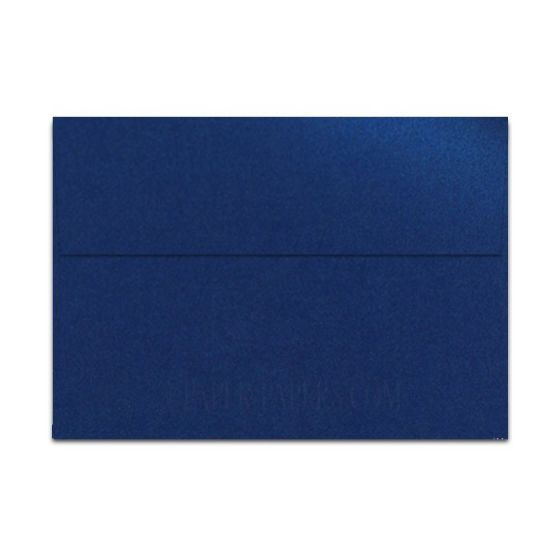 Shine BLUE SATIN - Shimmer Metallic - A7 Envelopes (5.25-x-7.25) - 25 PK