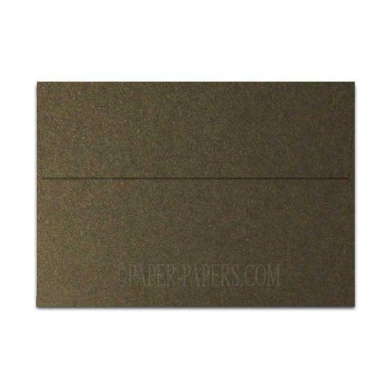 Shine BRONZE - Shimmer Metallic - A7 Envelopes (5.25-x-7.25) - 25 PK