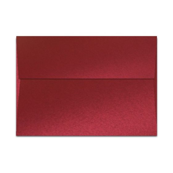 Shine RED SATIN - Shimmer Metallic - A7 Envelopes (5.25-x-7.25) - 250 PK