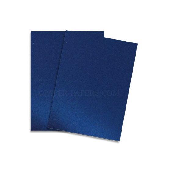 Shine BLUE SATIN - Shimmer Metallic Paper - 12x18 - 80lb Text (118gsm) - 200 PK