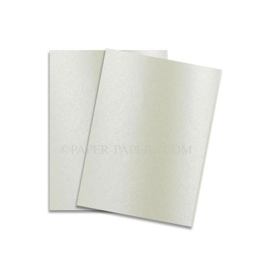 Shine CHAMPAGNE - Shimmer Metallic Card Stock Paper - 8.5 x 11 - 107lb Cover (290gsm) - 25 PK