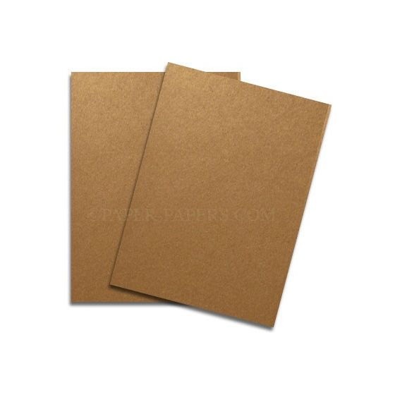 Shine COPPER - Shimmer Metallic Card Stock Paper - 28x40 - 107lb Cover (290gsm) - 200 PK