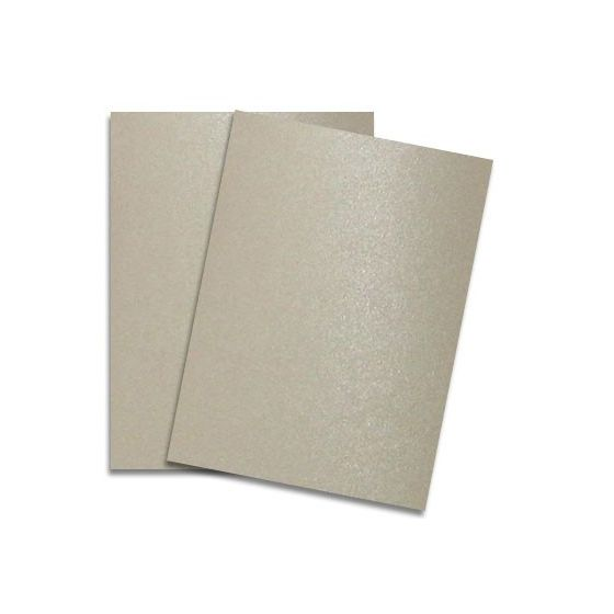 Shine SAND - Shimmer Metallic Card Stock Paper - 8.5 x 11 - 107lb Cover (290gsm) - 100 PK