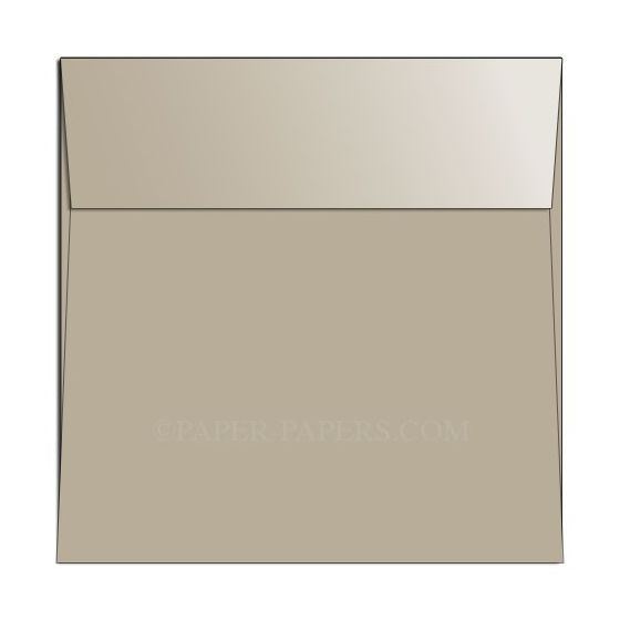 Shine SAND - Shimmer Metallic - 6-1/2 Square Envelopes (6.5-x-6.5) - 25 PK