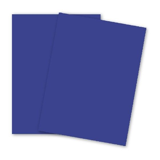 Astrobrights 8.5X11 Card Stock Paper - BLAST-OFF BLUE - 65lb Cover - 2000 PK