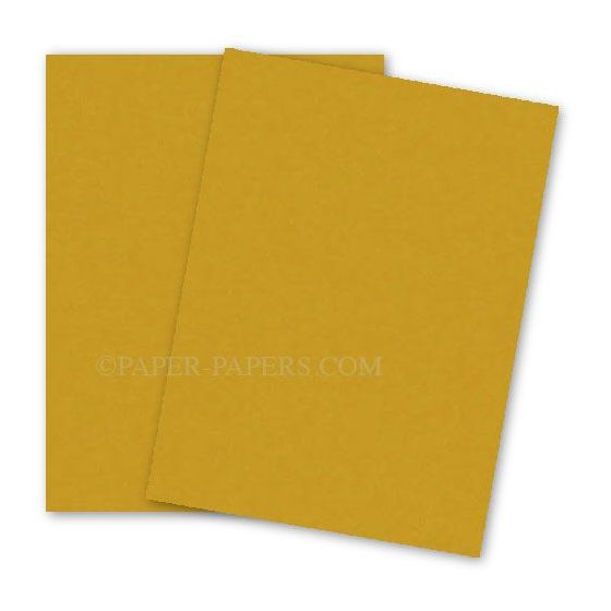 Astrobrights Paper (23 x 35) - 65lb Cover - Galaxy Gold