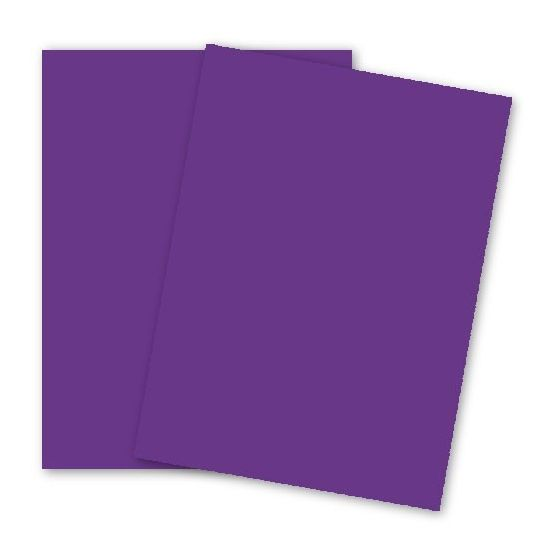 Astrobrights 8.5X11 Card Stock Paper - GRAVITY GRAPE - 65lb Cover - 2000 PK