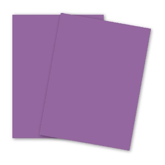 Astrobrights 8.5X11 Card Stock Paper - OUTRAGEOUS ORCHID - 65lb Cover - 2000 PK