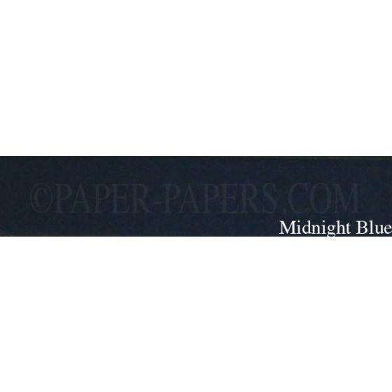 Royal Sundance Linen - MIDNIGHT BLUE - 23 x 35 Cardstock Paper - 80LB Cover