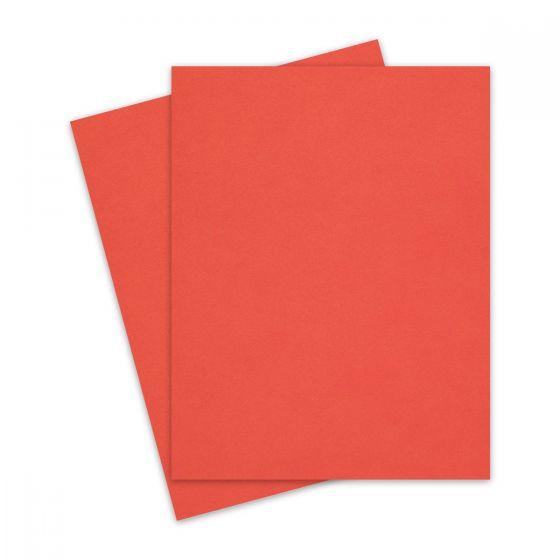 CORAL Keaykolour 8.5X11 Letter size Cardstock Paper 111lb Cover - 25 PK