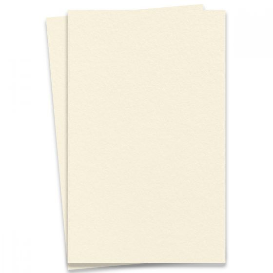 LETTRA Cotton Ecru White - 11X17 Ledger Size Paper - 220lb Cover (595gsm) - 50 PK