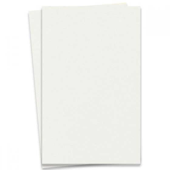 LETTRA Cotton Pearl White - 11X17 Ledger Size Paper - 32lb Writing (120gsm) - 200 PK