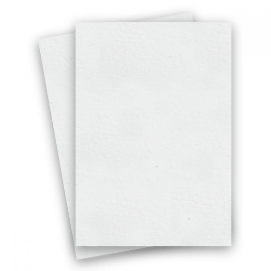 Mohawk Loop Antique Vellum - SNOW - 110lb Cover - 8.5 x 14 Card Stock Paper - 150 PK