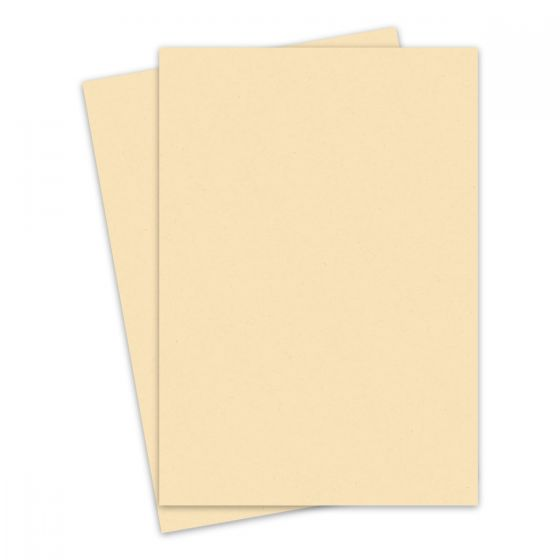French Manila Yellow Kraft (2) Paper  Offered by PaperPapers