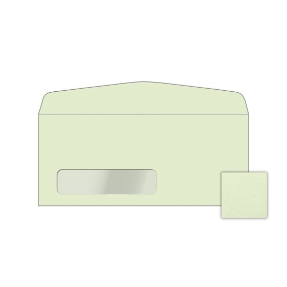 Neenah Cotton MINT - #10 Poly Window Envelopes (4.125-x-9.5-inches) - 800 PK