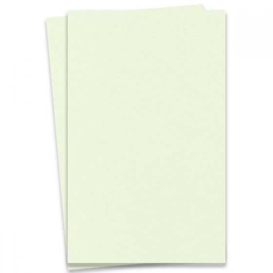 NEENAH Cotton Mint - 11X17 Ledger Size Paper - 220lb Cover (595gsm) - 50 PK