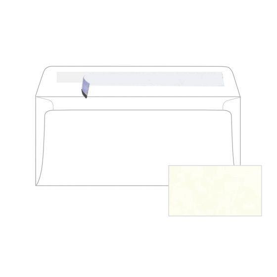 Astroparche - White No. 10 peel and seal Envelopes (4.125-x-9.5-inches) - 2500 PK
