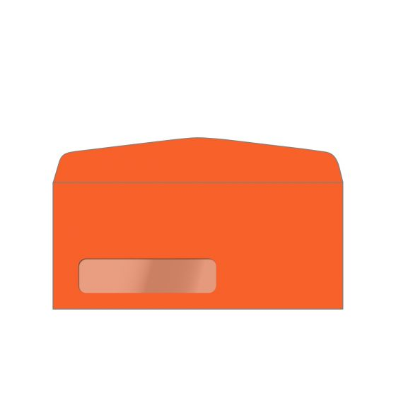 Astrobrights Orbit Orange (1) Envelopes Offered by PaperPapers
