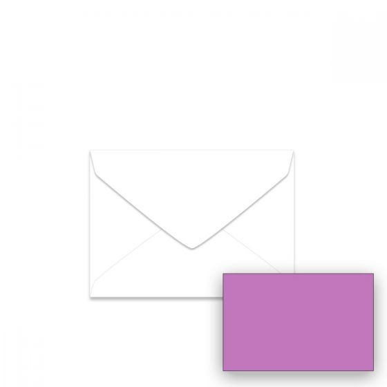 Astrobrights - 4-BAR (Baronial) Envelopes (3.625-x-5.125-inches) - Outrageous Orchid - 2500 PK