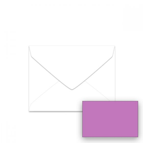 Astrobrights - 5-1/2-BAR (Baronial) Envelopes (4.375-x-5.75-inches) - Outrageous Orchid - 2500 PK
