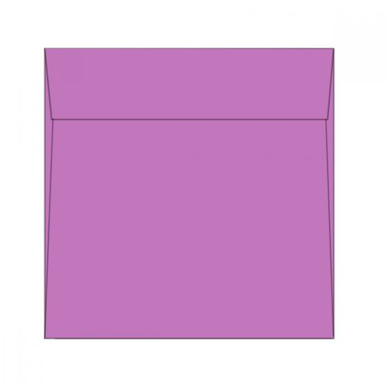 Astrobrights - 8 1/2 x 8 1/2 Square Envelopes (8.5-x-8.5-inches) - Outrageous Orchid - 1000 PK